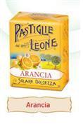 Pastiglie Leone all'Arancio Dissetanti  30 gr