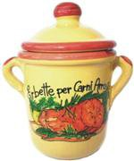 Ceramic Jar with Meats Herbs Spices 5 gr