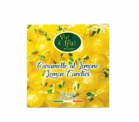 Lemon Flavored Hard Candies 100 gr Perle di Sole