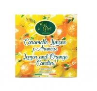Caramelle dure assortite Limone e Arancia 100 gr Perle di Sole