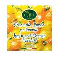 Caramelle dure assortite Limone e Arancia 250 gr Perle di Sole