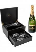 Champagne Grand Vintage 2003 Flute Set Moet & Chandon