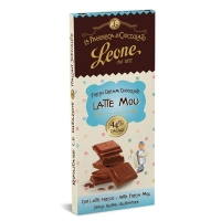 Cioccolato al Latte Mou 44% 75 gr Leone La Fabbrica del Cioccolato