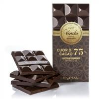 Cioccolato Fondente 75% Cuor Di Cacao Tavoletta 100 gr Venchi