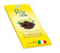 Cioccolato Fondente al Limone Tavoletta 100 gr Perle di Sole