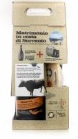 """Confezione Rareca """"Matrimonio in Costa di Sorrento"""" Birra e Provolone del Monaco Dop Birrificio Sorrento"""