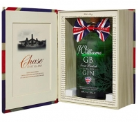 "Gin Williams GB ""Confezione a Libro"" 50 cl Chase Distillery"
