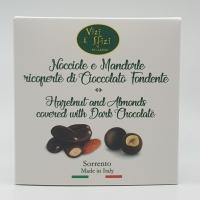 Nocciole e Mandorle ricoperte di Cioccolato Fondente 100 gr Vizi & Sfizi