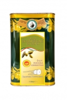 Olio Extravergine di Oliva D.O.P. Penisola Sorrentina Lattina 1000 ml Frantoio Pontecorvo
