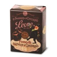 Pastiglie di Cioccolato Fondente 74% 30 gr Leone La Fabbrica del Cioccolato