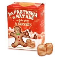 Pastiglie di Natale al gusto di Biscotto 30 gr Leone