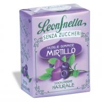 Pastiglie Leone Gommose al MIrtillo senza zucchero 35 gr