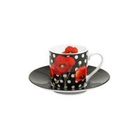 Porcelain Cup and Saucer Madame Petite - Dots Konitz