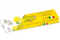 Limoncello Flavored Soft Nougat – White Chocolate 150 gr Perle di Sole